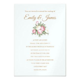 Temple Wedding Invitation