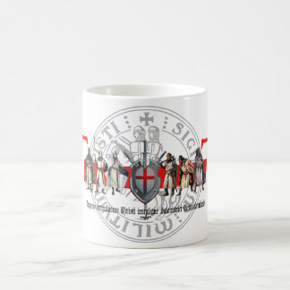Templer brothers with seal cup basic white mug