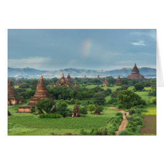 Temples in Bagan, Myanmar Card