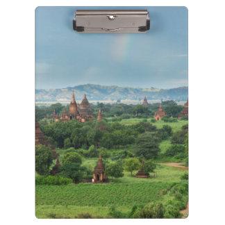 Temples in Bagan, Myanmar Clipboard