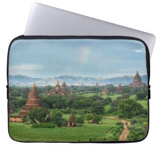 Temples in Bagan, Myanmar Laptop Sleeve