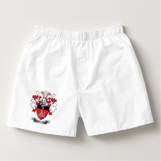 Templeton Family Crest Coat of Arms Boxers