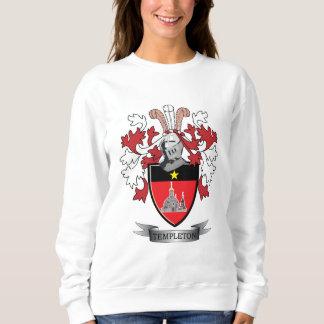 Templeton Family Crest Coat of Arms Sweatshirt