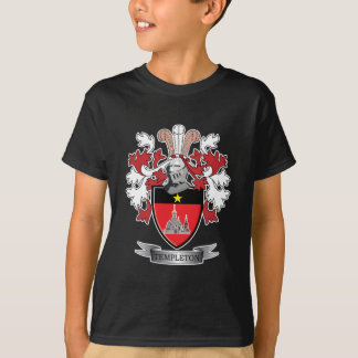 Templeton Family Crest Coat of Arms T-Shirt