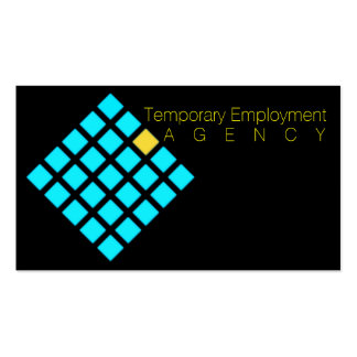 Temporary Employment Agencies Service Consultants Pack Of Standard Business Cards