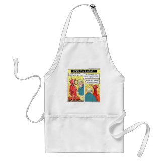 Temporary Hell Funny Standard Apron