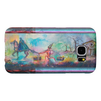 TEMPTATION Dark Knight and Devil's Treasure Blue Samsung Galaxy S6 Cases