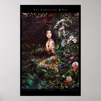 Temptation of Eve in the Garden of Eden Poster
