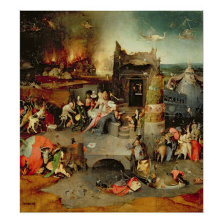 Temptation of St. Anthony Poster