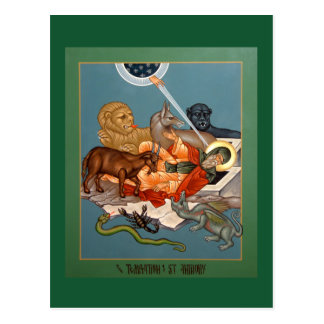 Temptation of St. Anthony Prayer Card