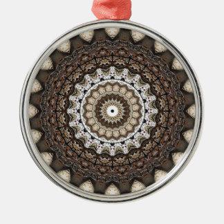 Tempus Fugit Metal Ornament