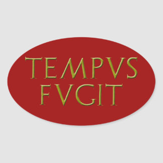 Tempus Fugit Sticker