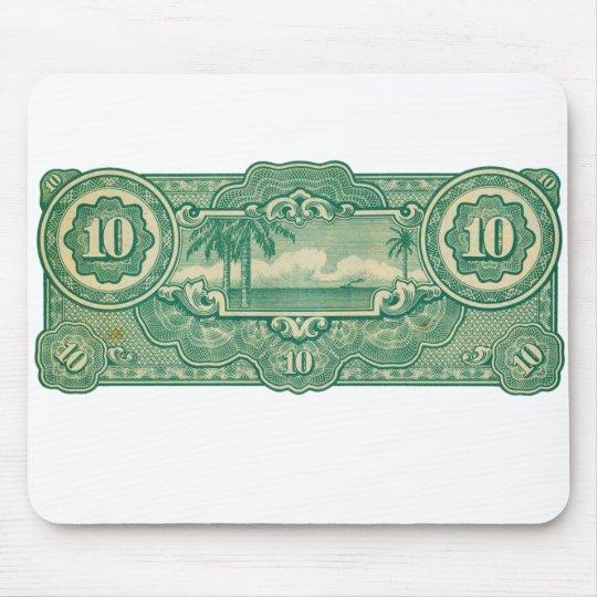 Ten Bucks Play Money Bill Back Mouse Pad
