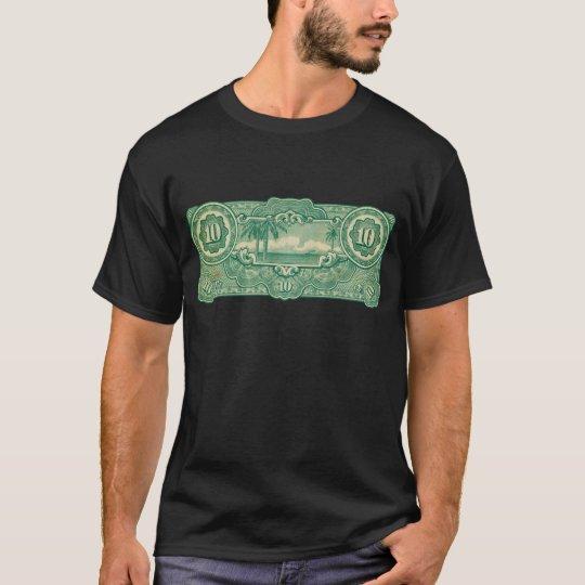 Ten Bucks Play Money Bill Back T-Shirt
