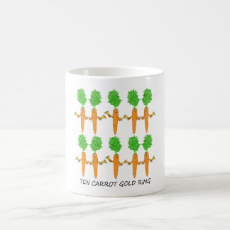 Ten Carrot Gold Ring Coffee Mug