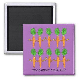 Ten Carrot Gold Ring Magnet