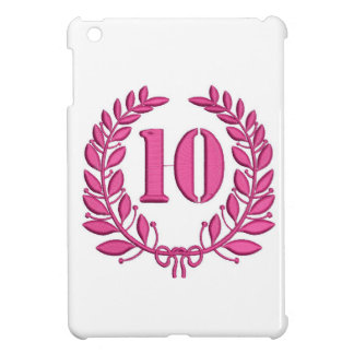 ten celebration imitation embroidery iPad mini cases