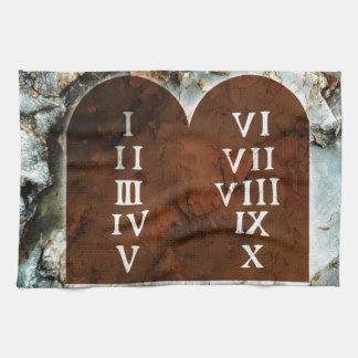 Ten Commandments Hand Towel