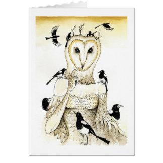 Ten for a bird you must not miss card