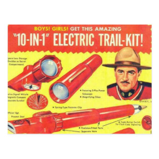 Ten in One Electric Trail Kit Postcard