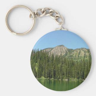 Ten Lakes Scenic Area Basic Round Button Key Ring