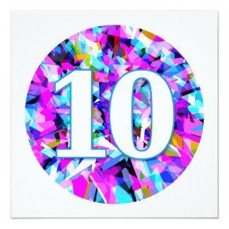 Ten - Party Invitation
