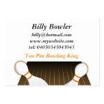 Ten Pin Bowling Business Cards