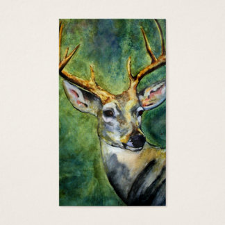 Ten Pointer (Deer) Business Cards