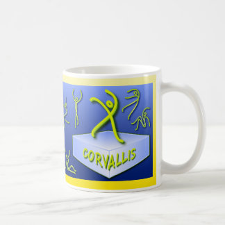 """""""Ten Tiny Dances®"""" Corvallis mug"""