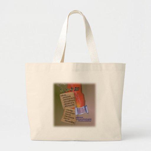 Ten Words Tote Bags