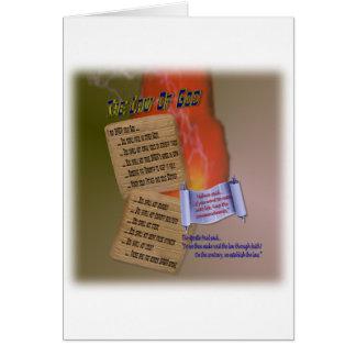 Ten Words Greeting Card