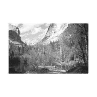 Tenaya Canyon Mirror Lake Gallery Wrapped Canvas