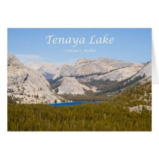 Tenaya Lake Yosemite California Products Card
