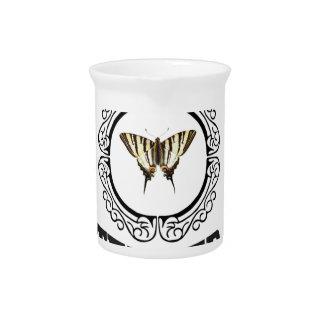 tender butterfly pitcher