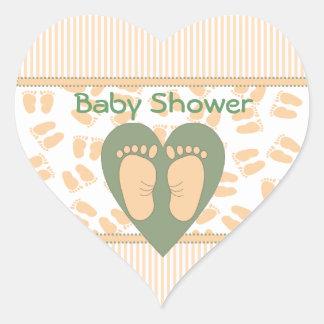 Tender Feet Shower Stickers