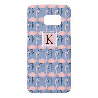 Tender Flamingo Pattern   Monogram