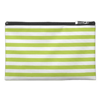 Tender Shoots Green Stripes Pattern Travel Accessories Bag