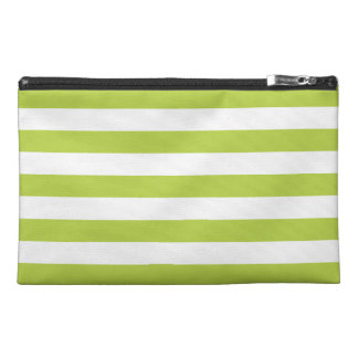 Tender Shoots Green Stripes Pattern Travel Accessories Bags