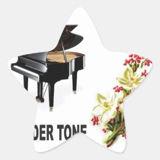 tender tone display star sticker