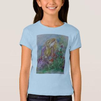 """""""Tending The Garden"""" girl's tshirt"""