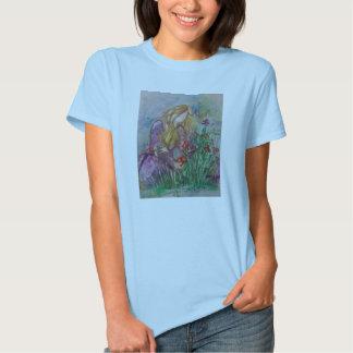 """""""Tending The Garden"""" Women's tshirt"""