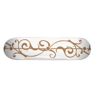 Tendrillon Ivory (Tan) Skateboard Deck