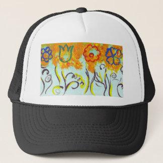 tendrils trucker hat