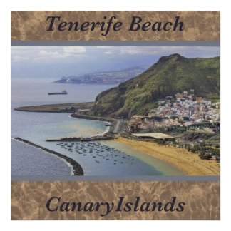 Tenerife Beach, Canary Islands, Spain Photo Poster
