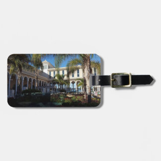 Tenerife Hotel and Palm Trees Luggage Tag