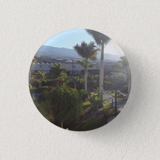 Tenerife Landscape Button Badge
