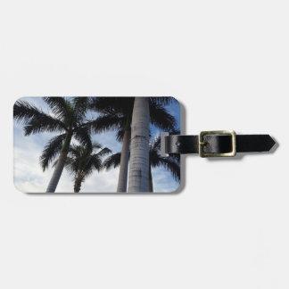 Tenerife Palm Trees Luggage Tag