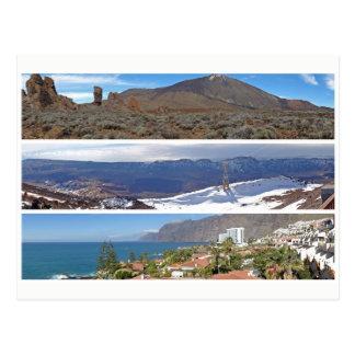 Tenerife panoramas postcard