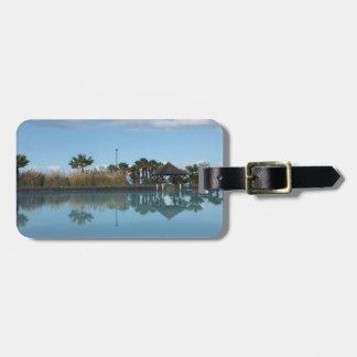 Tenerife Poolside View Luggage Tag