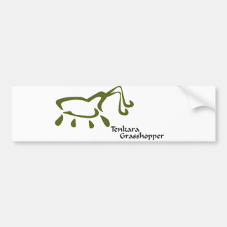 TenkaraGrasshopper Logo Bumper Sticker